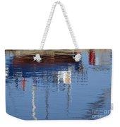 Floating On Blue 21 Weekender Tote Bag