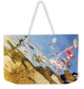 Floating On Blue 29 Weekender Tote Bag