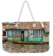 Floating Pub In Shanty Town Weekender Tote Bag