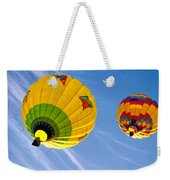 Floating Upward Hot Air Balloons Weekender Tote Bag