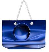Floating Water Drop Weekender Tote Bag