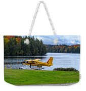 Floatplane In Fall Weekender Tote Bag