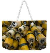 Floats Used In Crab Fishing Weekender Tote Bag