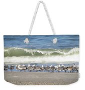 Flock And Wave Weekender Tote Bag
