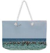 Flock Of Seagulls Weekender Tote Bag
