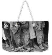 Flood Refugees, 1937 Weekender Tote Bag