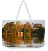 Flooded Amazon With Houses Weekender Tote Bag