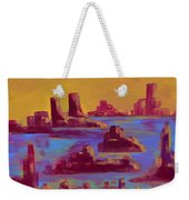 Flooded Canyon Weekender Tote Bag
