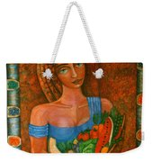Flora - Goddess Of The Seeds Weekender Tote Bag