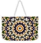 Flora Kaleidoscope Weekender Tote Bag