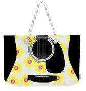 Floral Abstract Guitar 22 Weekender Tote Bag