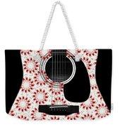 Floral Abstract Guitar 24 Weekender Tote Bag
