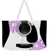 Floral Abstract Guitar 26 Weekender Tote Bag