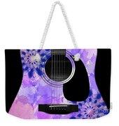 Floral Abstract Guitar 27 Weekender Tote Bag