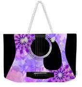 Floral Abstract Guitar 29 Weekender Tote Bag