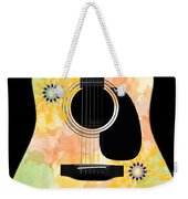 Floral Abstract Guitar 37 Weekender Tote Bag