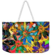 Floral Abstract Photoart Weekender Tote Bag
