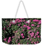 Floral Afternoon Weekender Tote Bag