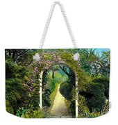 Floral Arch And Path Weekender Tote Bag