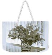 Floral Arrangement With Blinds Reflection Weekender Tote Bag