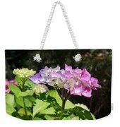 Floral Art Photography Pink Lavender Hydrangeas Weekender Tote Bag