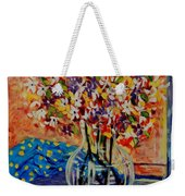 Floral Bliss Weekender Tote Bag