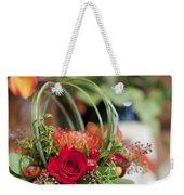 Floral Centerpiece Weekender Tote Bag