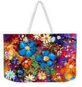 Floral Dance Fantasy Weekender Tote Bag