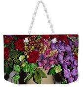 Floral Decor Weekender Tote Bag
