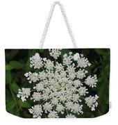 Floral Disc Weekender Tote Bag