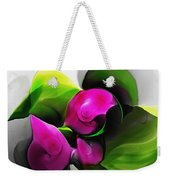 Floral Expression 111213 Weekender Tote Bag
