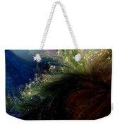 Floral Fantasia Weekender Tote Bag