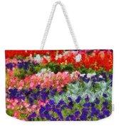 Floral Fantasy Weekender Tote Bag