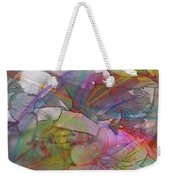 Floral Fantasy - Square Version Weekender Tote Bag