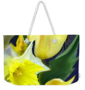 Floral Flow Weekender Tote Bag