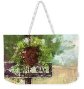 Floral - Flowers - One Way Weekender Tote Bag