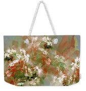 Floral Fractal 030713 Weekender Tote Bag