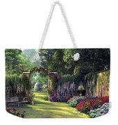 Floral Garden Weekender Tote Bag