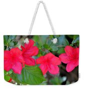 Floral Hedge Weekender Tote Bag