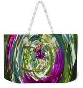 Floral Illusion 1 Weekender Tote Bag