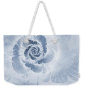 Floral Impression Cyanotype Weekender Tote Bag