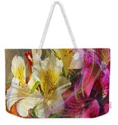 Floral Inspiration - Square Version Weekender Tote Bag