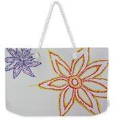 Floral Joy  Weekender Tote Bag