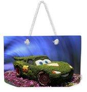 Floral Lightning Mcqueen Weekender Tote Bag