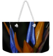 Floral Points Weekender Tote Bag