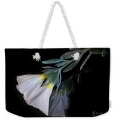 Floral Reflections 3 Weekender Tote Bag