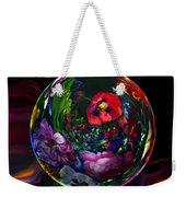 Floral Still Life Orb Weekender Tote Bag