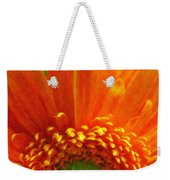Floral Sunrise - Digital Painting Effect Weekender Tote Bag