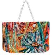 Floral Swirl Weekender Tote Bag