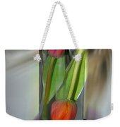 Floral Table Piece Weekender Tote Bag